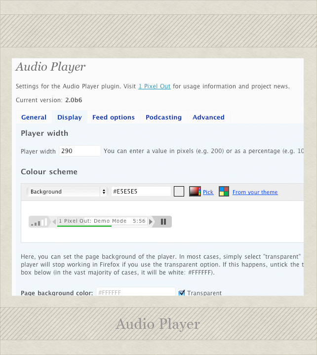 Audio Playere 51 Essential Wordpress Plugins (and bonus functions!)